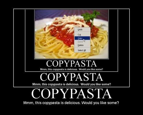 copypasta