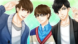 I want to date you all!! (even though the middle one is oniichan www)