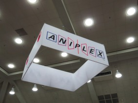 Aniplex booth