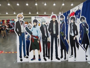 Those K cardboard stands look strikingly similar to the ones I saw in Ikebukuro earlier this year...