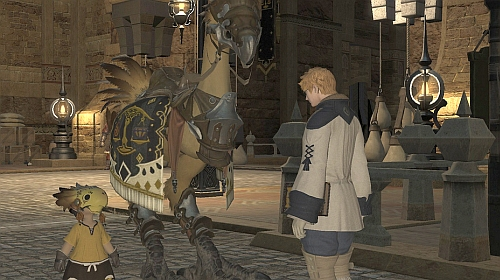 Getting my first chocobo
