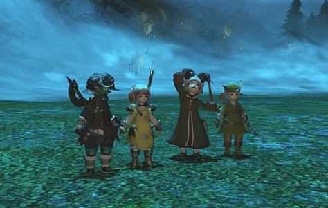 Clearing Garuda in a full lala party!
