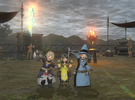 A memorable screenshot with my husband and one of my great friends from Hades