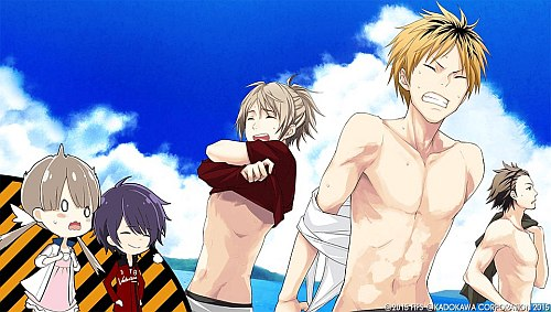 For a sports game there wasn't enough manservice at all. (;´・ω・)