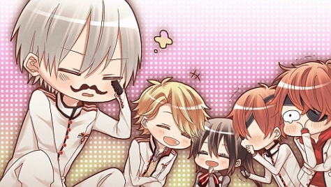 The chibi cgs were cute and all but I wanted more of Kazuaki's real artwork...
